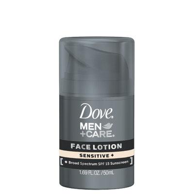 Dove Men+Care Sensitive+ Face Lotion