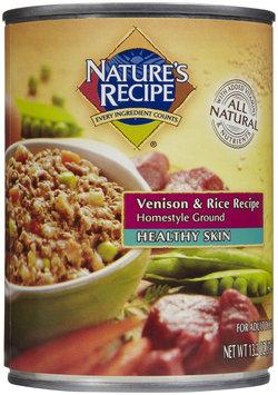 Nature's Recipe Healthy Skin - Venison & Rice - 12 x 13.2 oz