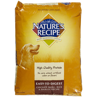 Nature's Recipe Easy to Digest - Chicken, Rice & Barley Recipe