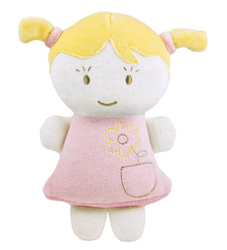 Dandelion Pink Organic Baby's First Doll - 1 ct.