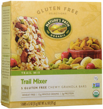 Nature's Path Organic - Chewy Granola Bars Trail Mixer - 5 Bars