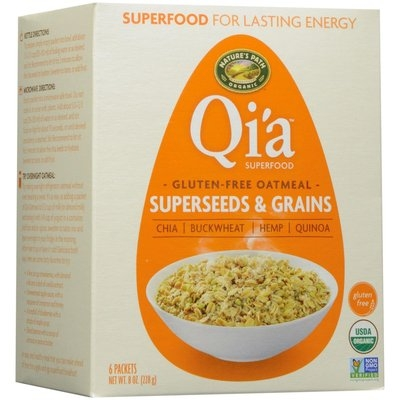 Nature's Path Organic Qi'a Superfood Gluten Free Oatmeal Superseeds & Grains 6 Packets