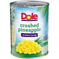 DOLE® Crushed Pineapple in Heavy Syrup