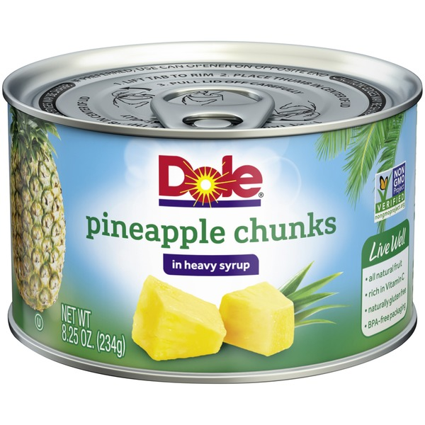 DOLE® Pineapple Chunks in Heavy Syrup