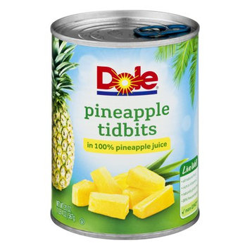 DOLE® Pineapple Tidbits in 100% Pineapple Juice