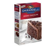 Ghirardelli Chocolate Double Chocolate Premium Cake Mix
