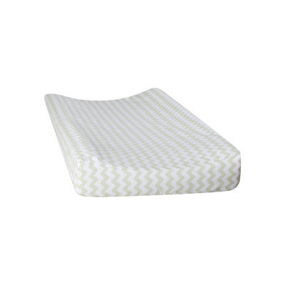Trend Lab Sea Foam Chevron Changing Pad Cover