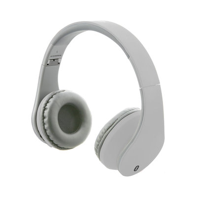 iLive Noise-Isolating Wireless Bluetooth On-Ear Headphones IAHB64MW (White)