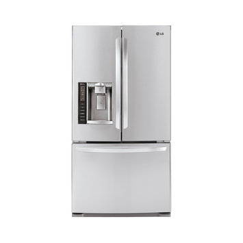 LG 19.79 Cu. Ft. French Door Refrigerator - Stainless Steel