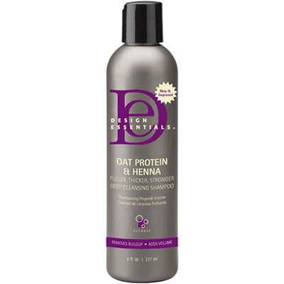Design Essentials Oat Protein & Henna Deep Cleansing Shampoo - 8 oz