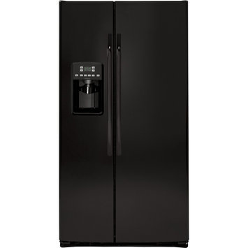 Hotpoint HSS25ATHBB 25.4 Cu. Ft. Black Side-By-Side Refrigerator