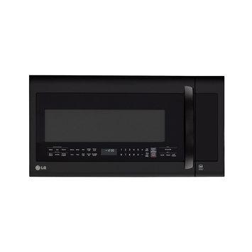 LG LMVM2033SB 2.2 Cu. Ft. Black Over-the-Range Microwave