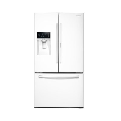 Samsung - 27.8 Cu. Ft. French Door Refrigerator - White