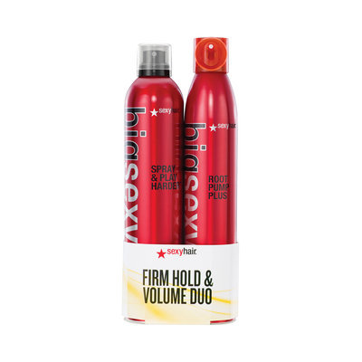 Sexy Hair Spray & Play Harder / Root Pump Plus Duo Value Set