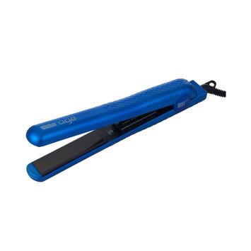 Hair Rage Pro Salon Model Flat Iron Indigo Blue