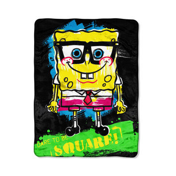 SpongeBob SquarePants Neon Nerd Micro-Raschel Throw