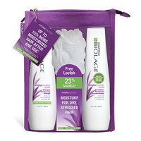Matrix Biolage HydraSource Shampoo and Conditioner + Loofah