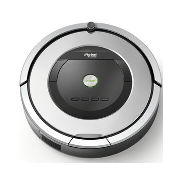 Irobot - Roomba 860 Robot Vacuum - Silver