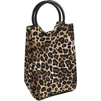 Vitaminder Company Retro Insulated Lunch Bag With Ice Pack Cheetah