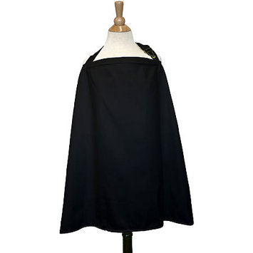 The Peanut Shell Nursing Cover in Black