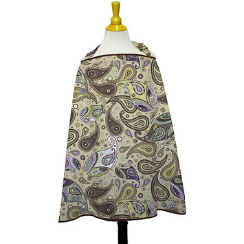 The Peanut Shell Nursing Cover in Devon