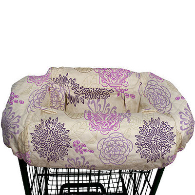 Peanut Shell Shopping Cart Cover - Dahlia