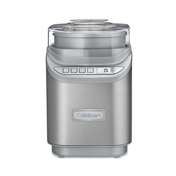 Cuisinart Ice Cream Maker, 2 Qt, Brushed Chrome