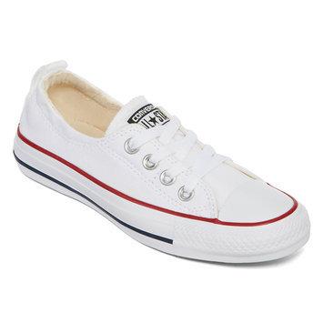 Converse Womens Chuck Taylor Shoreline Shoes-9,WHITE
