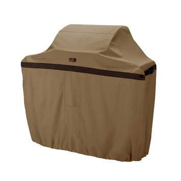 Classic Car Accessories Classic Accessories Hickory Heavy-Duty BBQ Grill Cover, 3X-Large, Tan
