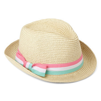 Carter's Baby Tan Striped Fedora Hat Kid's
