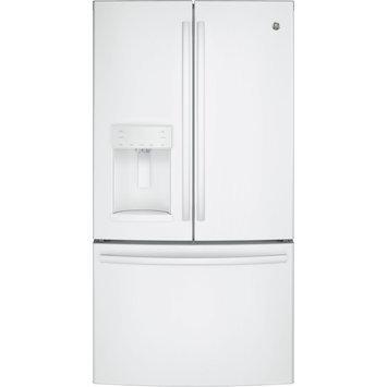 GE GFE28GGKWW 27.8 Cu. Ft. White French Door Refrigerator - Energy Star