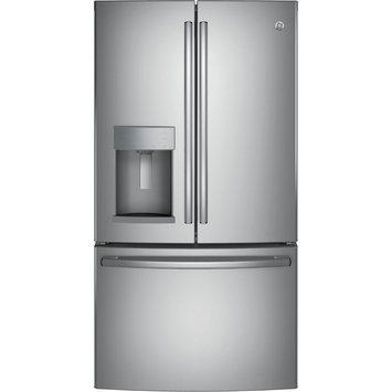 GE GFE28GGKBB 27.8 Cu. Ft. Black French Door Refrigerator - Energy Star
