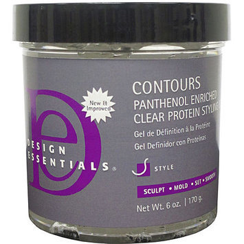 Design Essentials Contour Panthenol Clear Protein Styling Gel - 6 oz.