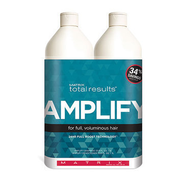 Matrix Total Results Amplify Shampoo and Conditioner Set - 33.8 oz. each