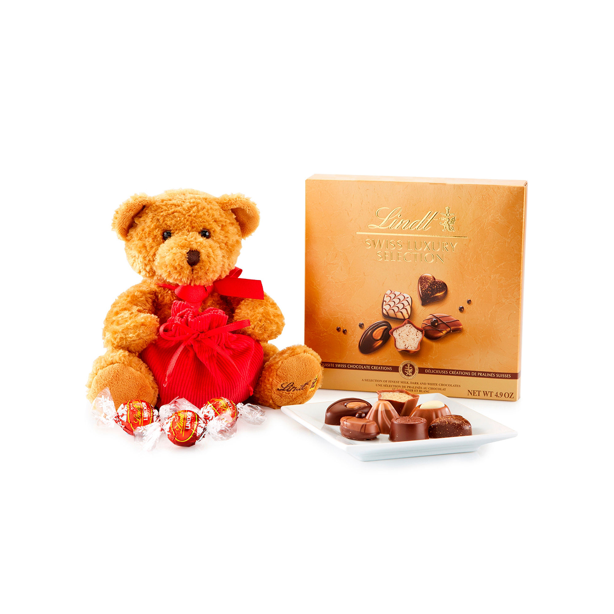 Lindt Chocolate Lindt Bear & Chocolates
