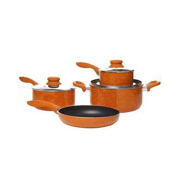 Gibson Delicioso Casa Balboa 7 Piece Cookware Set