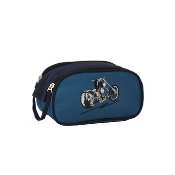 O3 Usa O3 Kids Motorcycle Toiletry and Accessory Bag