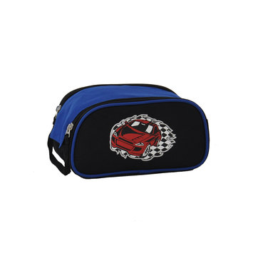 O3 Usa O3 Kids Racecar Toiletry and Accessory Bag