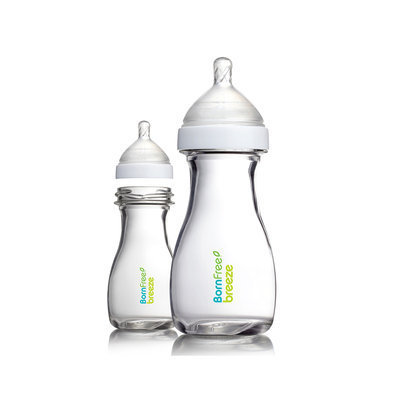 Born Free® Breeze 2-pack 9 oz. Glass Bottle
