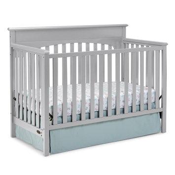 Graco Lauren 4-in-1 Convertible Crib, Pebble Gray