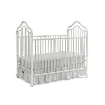 Ti Amo Caden Iron 2-in-1 Convertible Crib, White