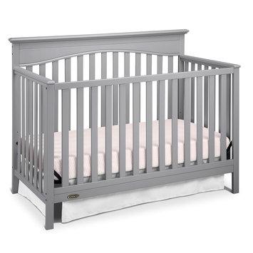 Graco Hayden 4-in-1 Convertible Crib, Pebble Grey