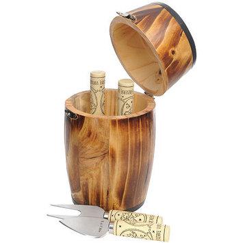 La Cote Homeware 4-pc. Cheese Knife Set with Mini Storage Barrel