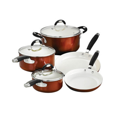 Tramontina Style Ceramica 8-pc. Cookware Set