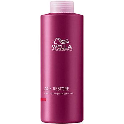 Wella 33.8 oz Age Restore Damage Repai Shampoo For Coarse Hair