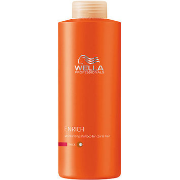 Wella Professionals Enrich Moisturising Shampoo For Coarse Hair 33.8 oz
