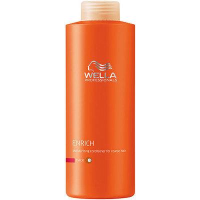 Wella Professionals Enrich Moisturising Conditioner For Coarse Hair 33.8 oz