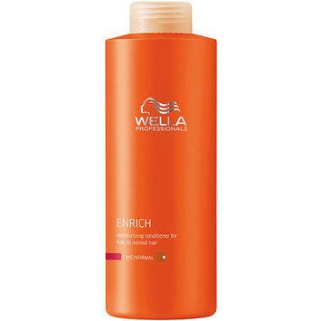 Wella Professionals Enrich Moisturising Conditioner For Fine/Normal Hair 33.8 oz