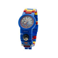 Clic Time Holdings LEGO DC Super Heroes Superman Minifigure Link Watch