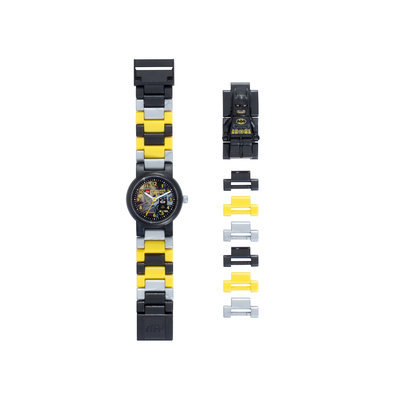 Clic Time Holdings LEGO DC Super Heroes Batman Minifigure Link Watch